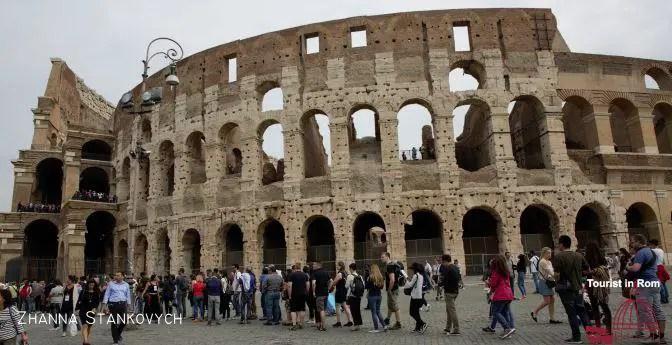 Drei Tage in Rom · ein Vormittag in Rom · Kolosseum Archeopark