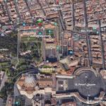 Satellite Image Vatican Museums and Surroundings