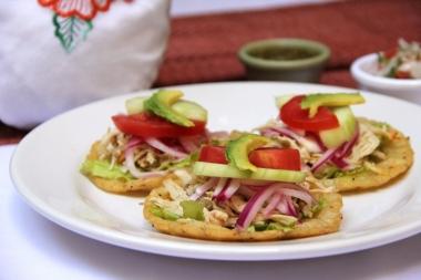 tortillas de Maiz Hechas amano acompañadas con Pavo