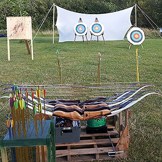 Activities in Dorset, Archery, Crossbows and Axe Throwing