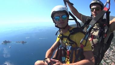 Paragliding in Montenegro - Excellent!