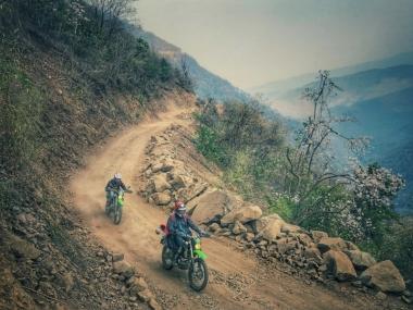 Myanmar trail