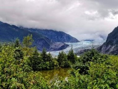 Mendenhall Glacier View