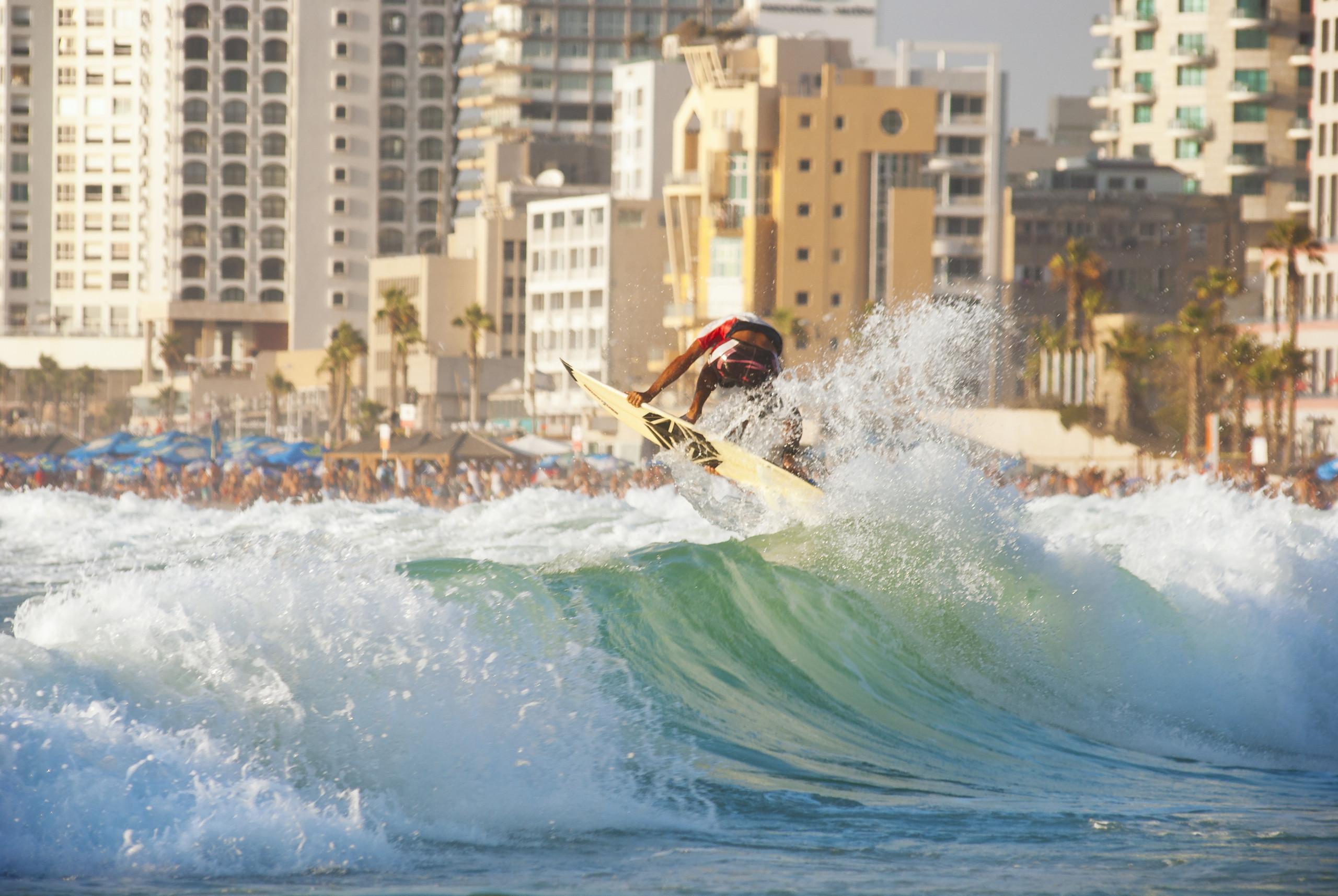 Surfing In Israel1