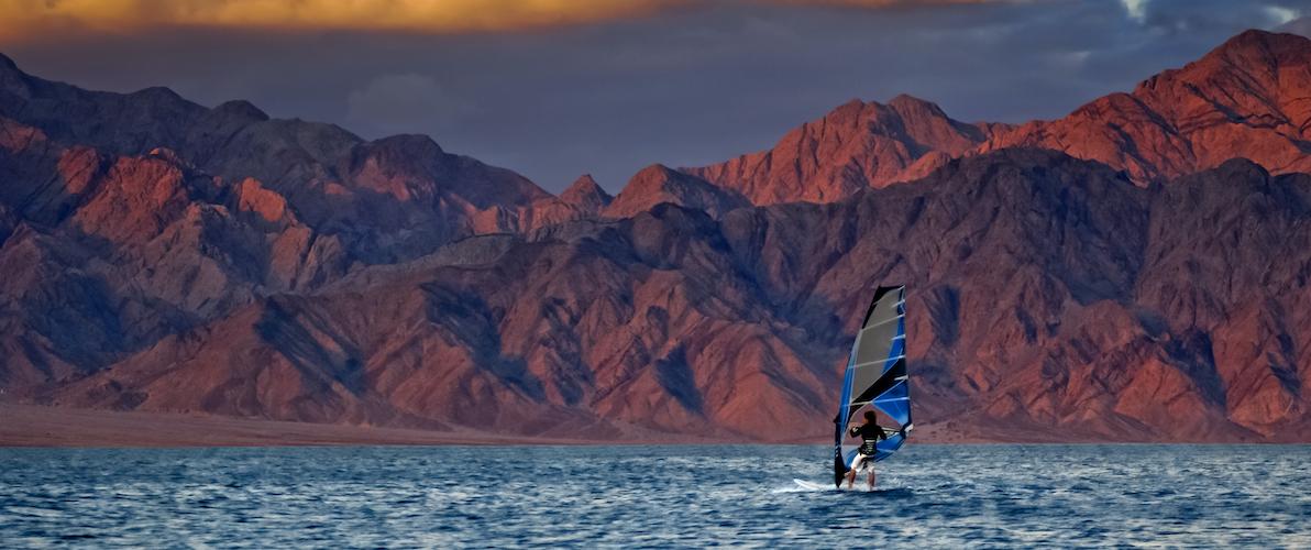 Windsurfing In Israel