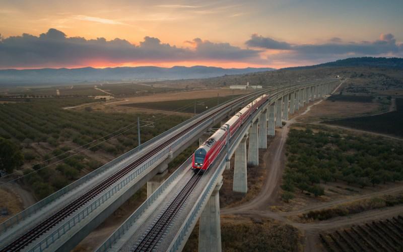 Trains In Israel: Israel Railways
