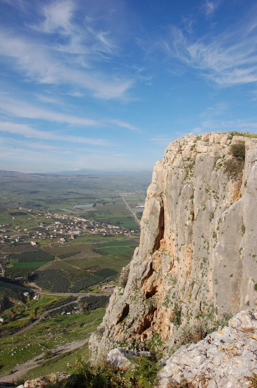 Mount Arbel, Towards The End Of The Jesus Trail Marks The Start Of The Descent To The Sea Of Galilee