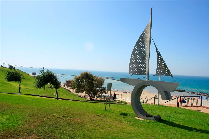 Beautiful Sculptures In Bat Yam Along The Walk To The Beach