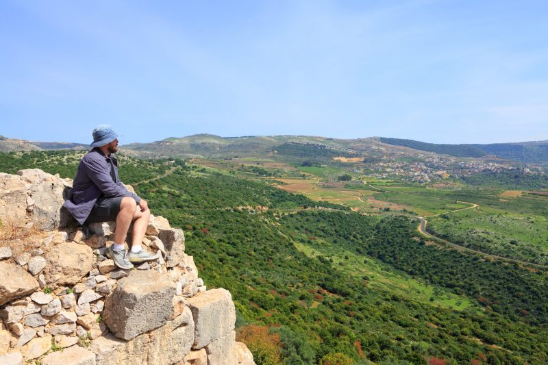 Golan Hiking