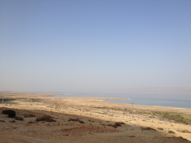 The Lowest Road in the World, alongside the Dead Sea