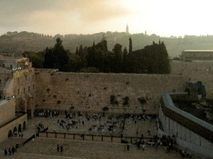 The Western Wall. Image Courtesy