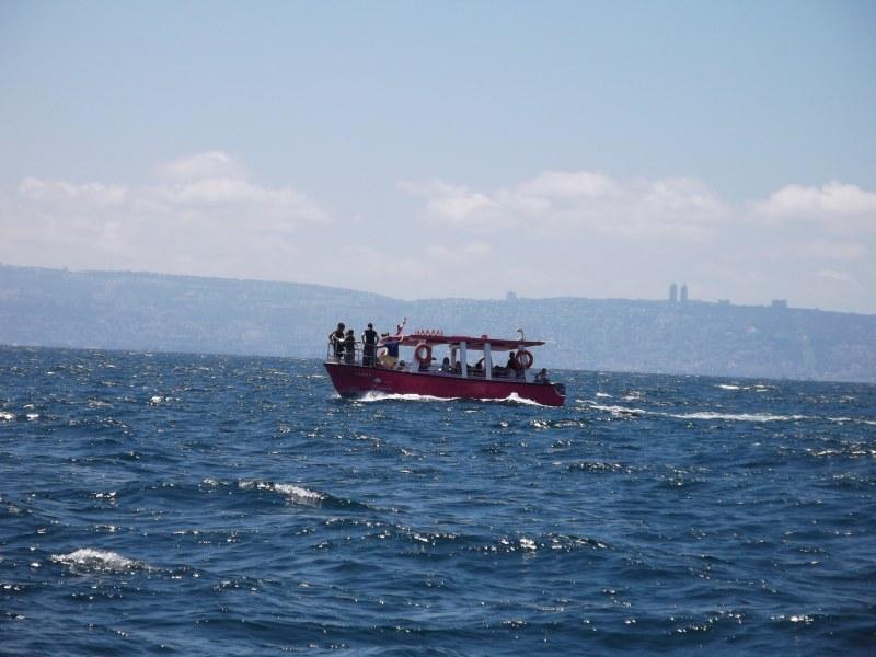 Akko Boat Rides - Out at Sea