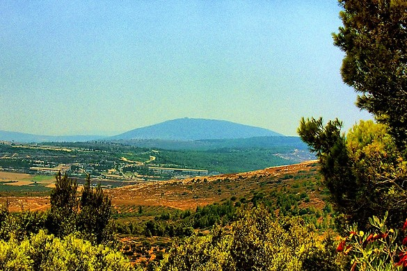 The beautiful Mount Tabor by Vad Levin