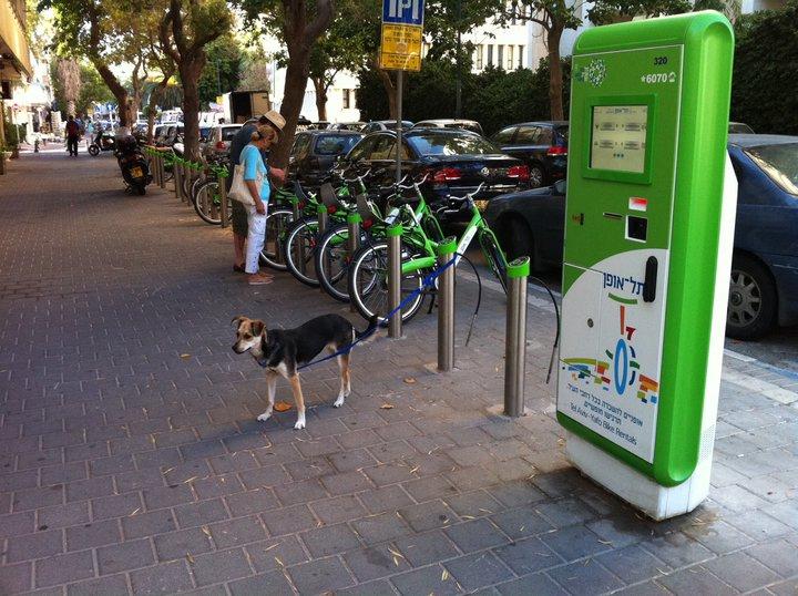 Bikes from Tel-O-Fun in Tel Aviv can be rented over Yom Kippur