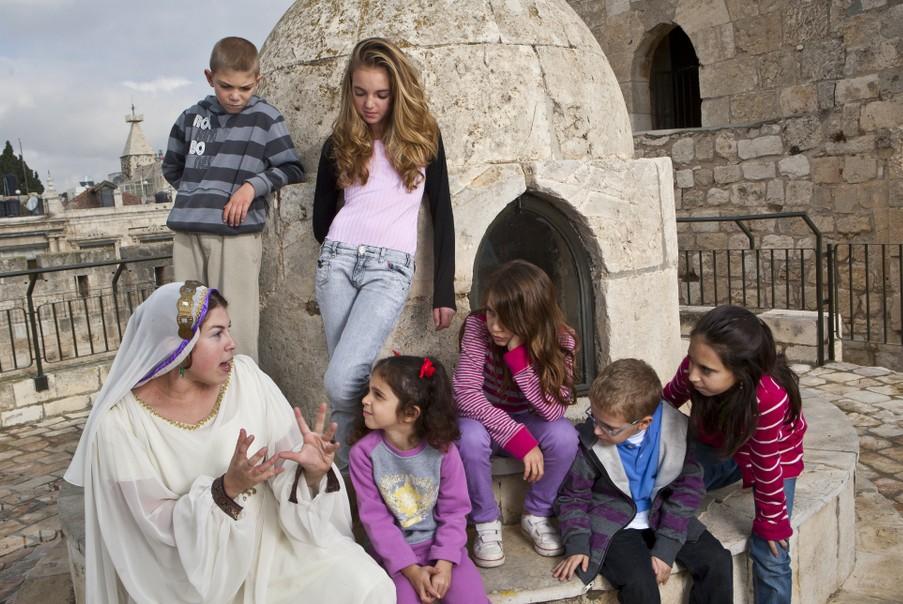 Hanukkah in Jerusalem at the Tower of David Museum