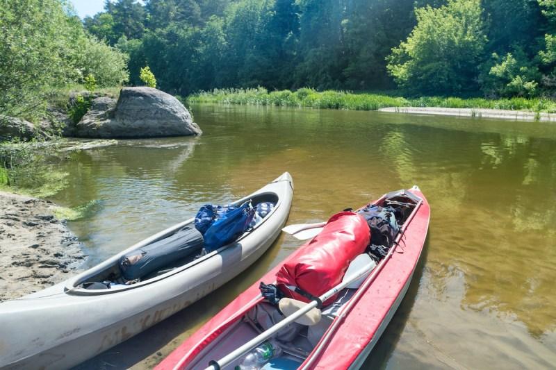 Kayaking In The River Jordan2