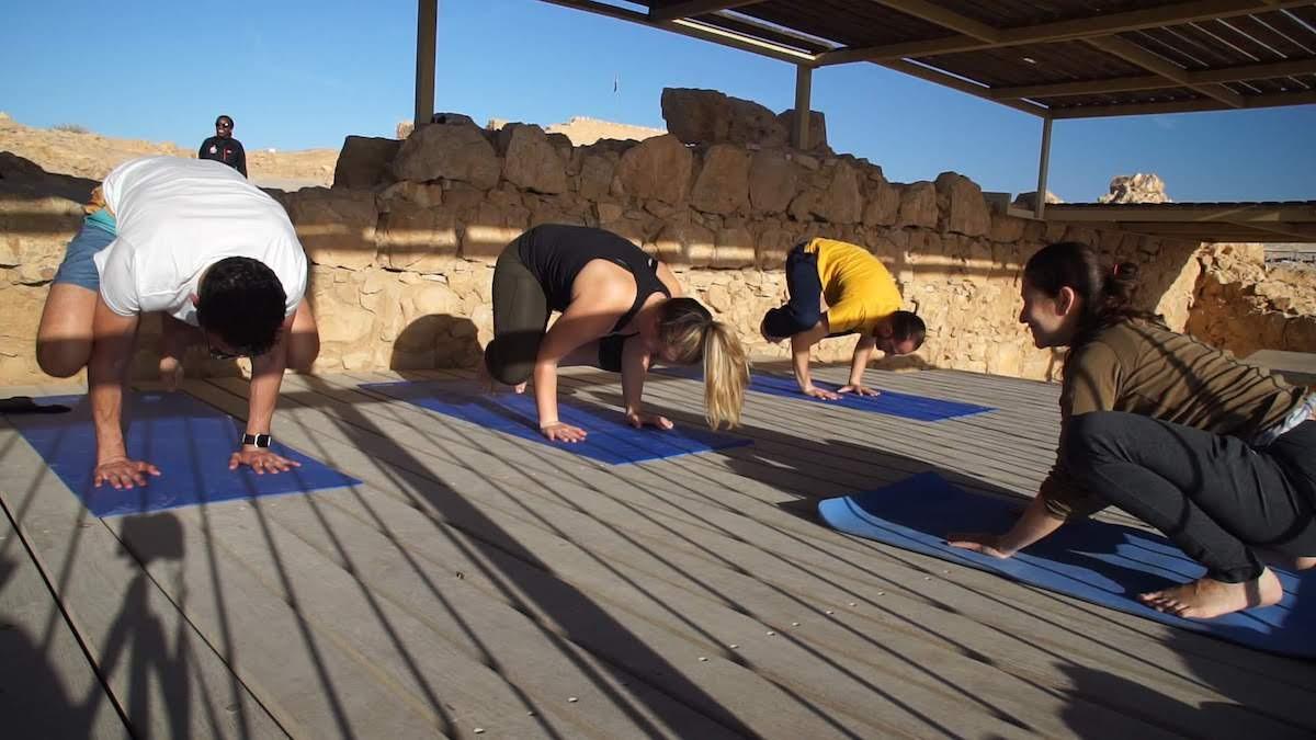 Masada Sunrise Yoga, Ein Gedi Oasis, And Dead Sea Wellness Experience Tour