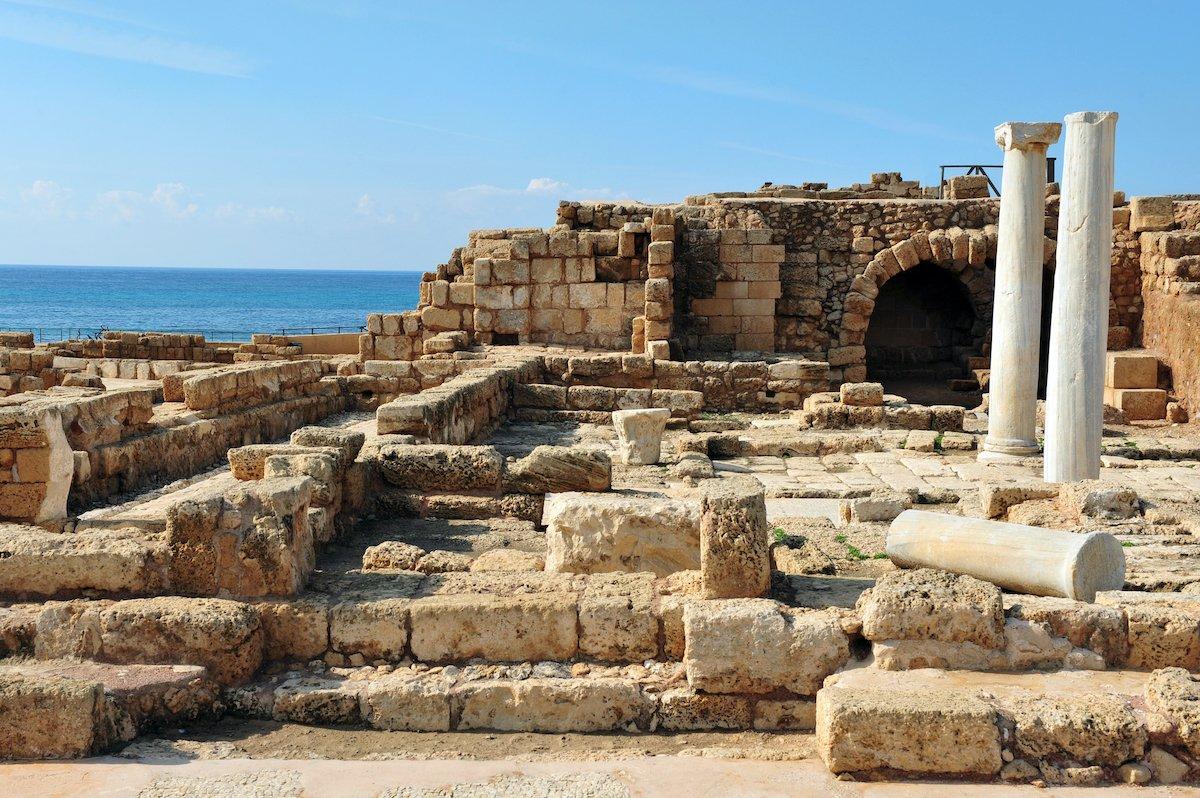 Caesarea, Haifa, Rosh Hanikra And Akko Tour 1