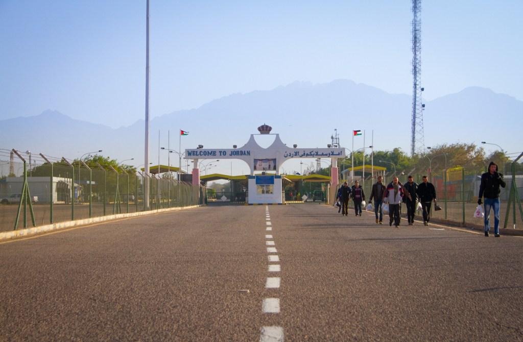 Entering Jordan via Land Borders with Israel1