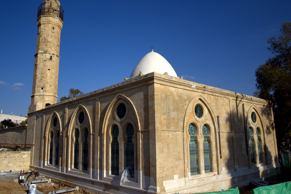 Restoration of a Turkish Mosque in Beer Sheva. Photo courtesy of David Shankbone