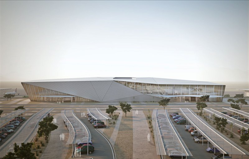 Ramon Airport Terminal Building