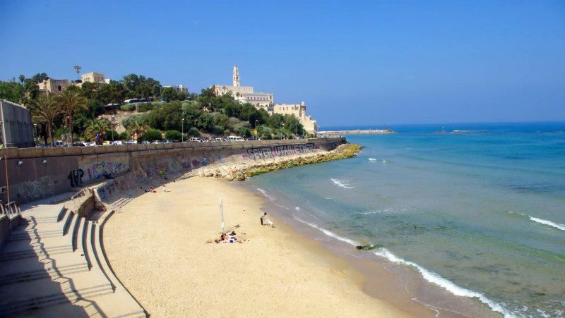 Alma Beach In Tel Aviv