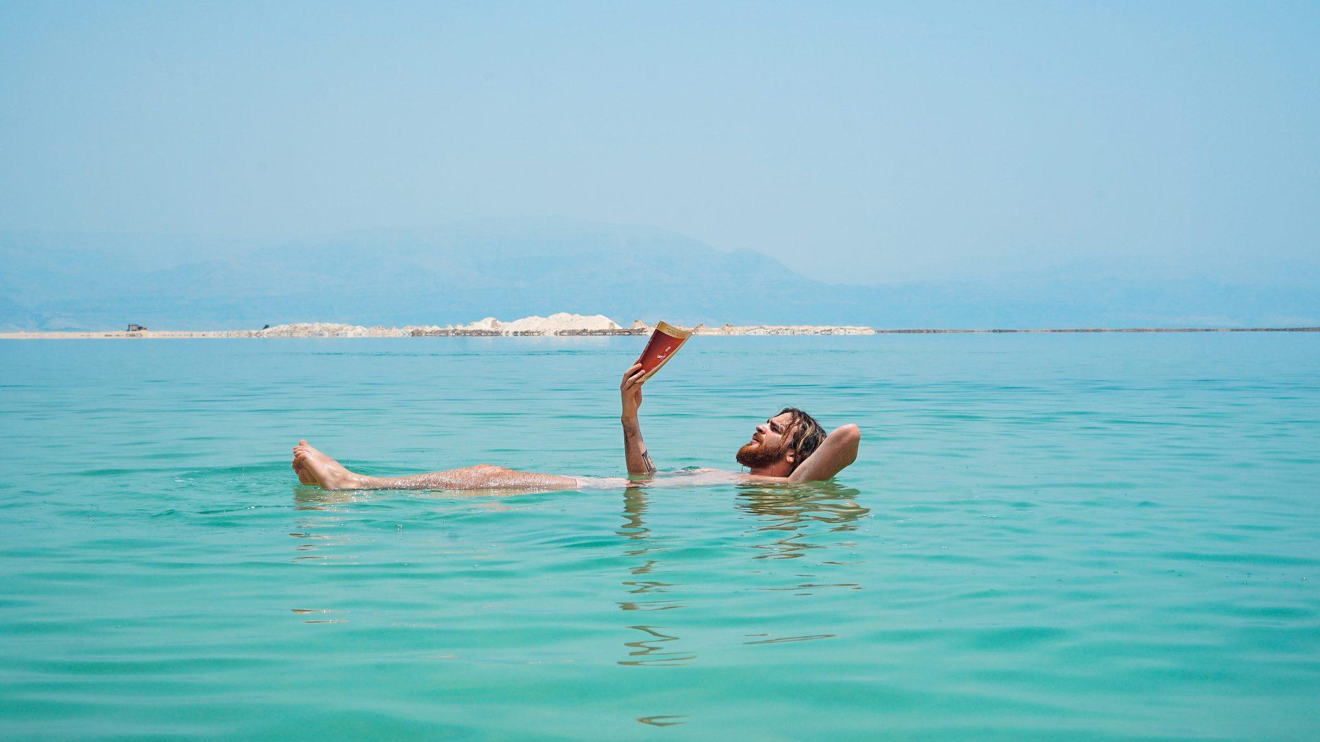 Dead Sea Israel in the summer