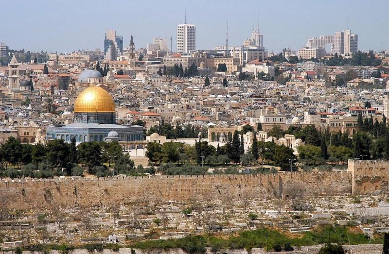 Jerusalem From Mt Olives