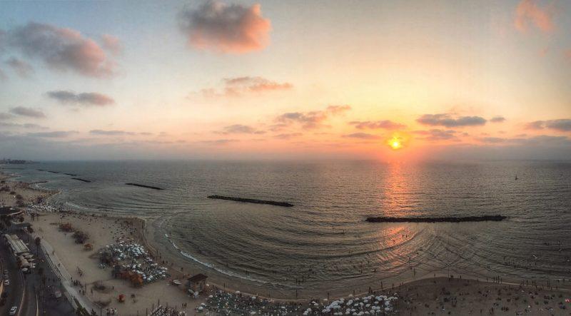 Gordon Beach Sunset