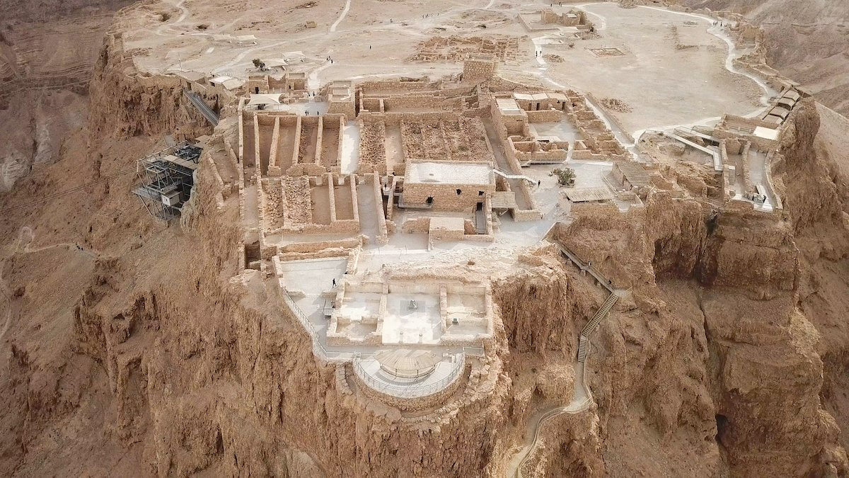 Masada, Qumran And Dead Sea Tour From Ashdod1
