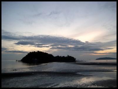 Thaïlande, plage, nature, coucher de soleil, paysage, nature, plein air,