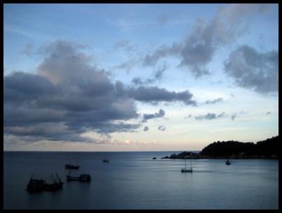 Thaïlande, Asie, mer, paysage, nature, plein air,coucher de soleil, voyage, trip