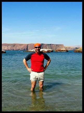 Pérou, Peru, baignade, Pacifique, pacific, mer, sea, desert, voyage, travel, Amerique du sud