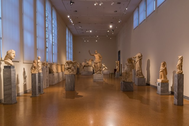 the National Archaeological Museum, Athens