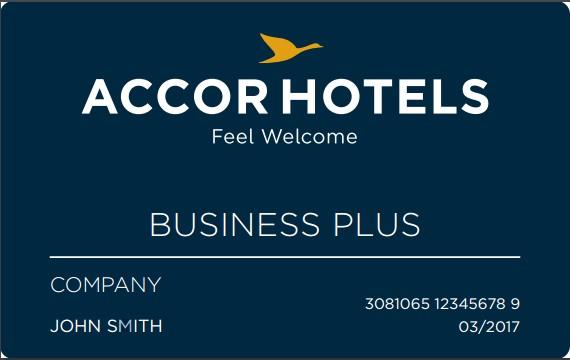 Business Plus La Nouvelle Carte DAccorHotels