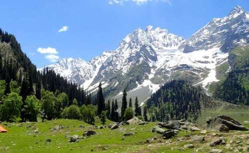 Thajiwas Glacier in Sonmarg | Tourist Attraction | Jammu & Kashmir