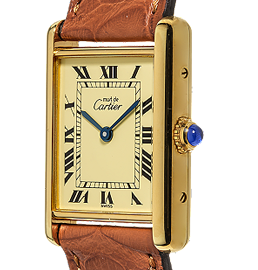Certified Pre Owned   Vintage Cartier Watches   Tourneau Certified Pre Owned Cartier Tank Watch