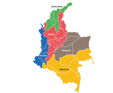 6 Most Beautiful Regions In Colombia (with Map & Photos) - Touropia