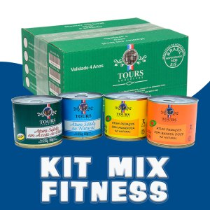 Kit Mix Fitness Tours Conservas