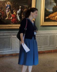 Barbara guida alla Galleria Corsini