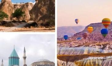 3 days Cappadocia konya tour