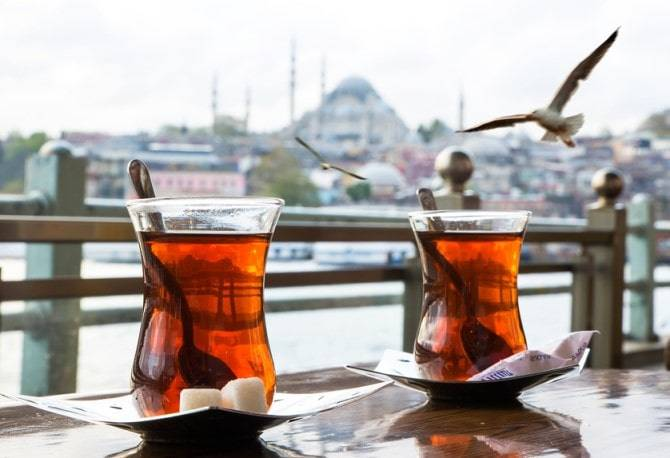 Benefits and Making Way of Turkish Tea Which Make it National Drink