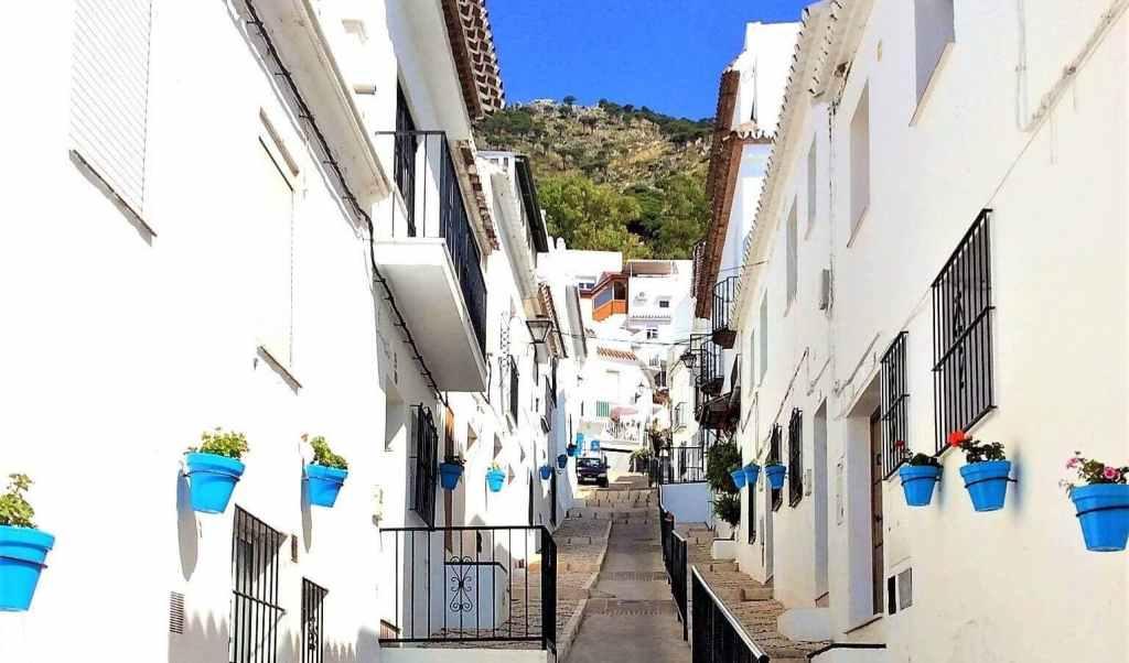 Excursión privada en Mijas con recogida en hotel