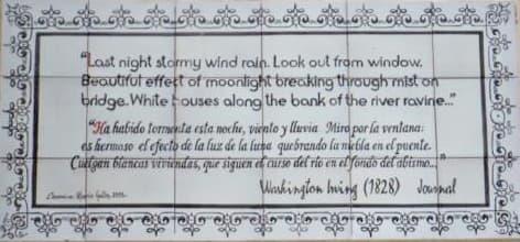 Washington Irving en Andalucía