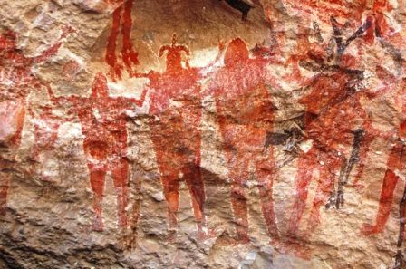 Cave Paintings Sierra de San Francisco, Baja California Sur