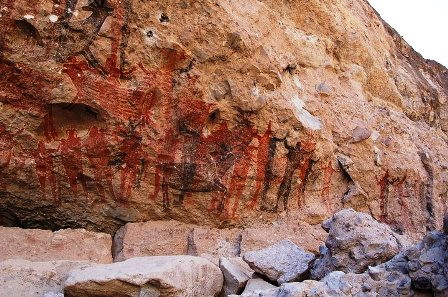 cave paintings sea and land tours baja california sur