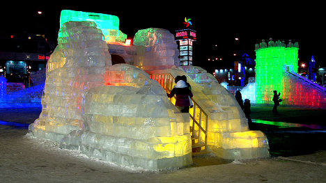 Ice Town Will Be Built Again In Astana News And Events Of