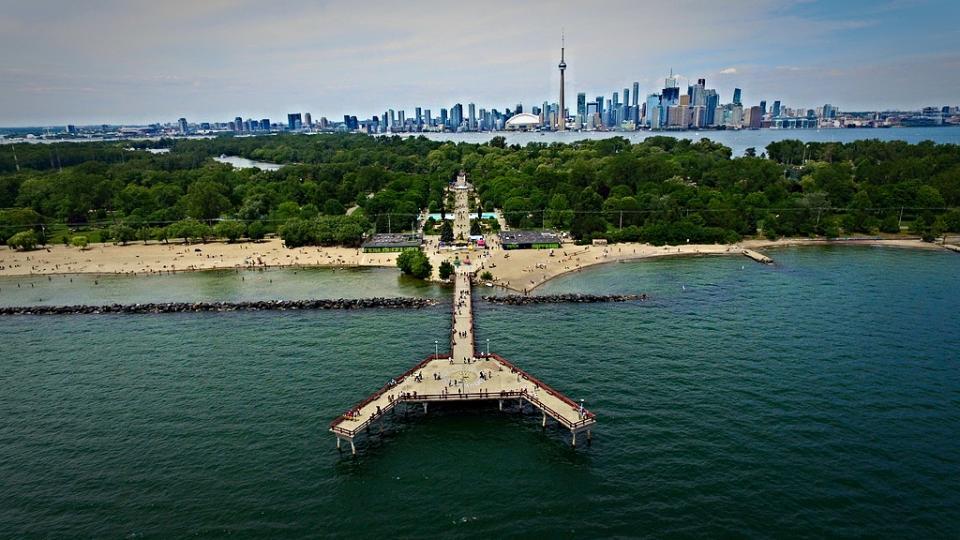 Toronto Islands and Centre Islands