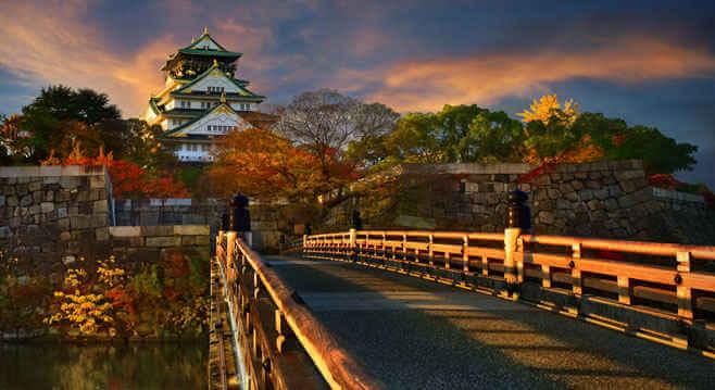 Osaka temple