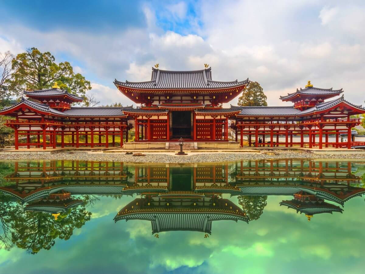 famous temple in kyoto Japan
